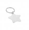 STAINLESS STEEL KEY RING STAR