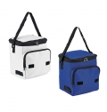 FOLDABLE COOLER BAG WITH FRONT POCKET, P-600D