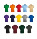 MEN'S POLYCOTTON POLO SHIRT PRIME COLORS