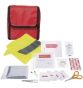 ATLAS 18-PIECE FIRST AID KIT AND SAFETY VEST