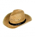 INDIANA GREEN STRAW HAT