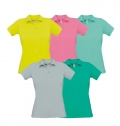 B&C SAFRAN PURE WOMEN POLO SHIRT 180G - 100% COTTON