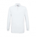 B&C SAFRAN LONG SLEEVE POLO SHIRT 180G - 100% COTTON