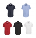 B&C SMART MEN SHORT SLEEVE SHIRT - 65% POLYESTER/ 35% C