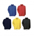 B&C AIR WINDBREAKER - WATERPROOF TAFETTA NYLON