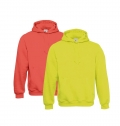 HOODED B&C SWEATSHIRT 280G - 80% COMBED COTTON/ 20% POL