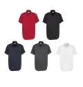 B&C SHARP MEN SHORT SLEEVE SHIRT - 100% COMBED COTTON -