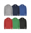 B&C FULL ZIP HOODED MEN SWEAT JACKET 280G - 80% COMBED