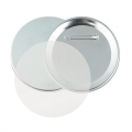 METALLIC BUTTON BADGE Ø 75 MM CH-075