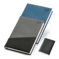 BI-MATERIAL A5 DIARY  FROST