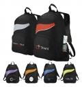 TORNADO ZIPPERED FRONT POCKET BACKPACK