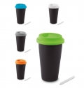 CHALK TUMBLER IN DOUBLE WALL   CHALCKY TUMBLER