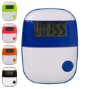 PLASTIC PEDOMETER WITH A STEP COUNTER.