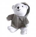 PLUSH BEAR WITH REFLECTIVE HOODIE.
