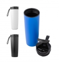 PP DOUBLE WALLED, LEAK PROOF TRAVEL MUG (450ML)
