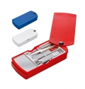 MANICURE SET WITH 4 ACCESSORIES AND MIRROR