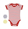 BABY STRIPED BODYSUIT MILES BABY
