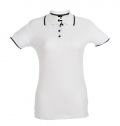 ROME WOMEN. WOMENS SLIM FIT POLO SHIRT