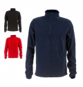 FLEECE 1/4 ZIP SWEAT-SHIRT VIENNA