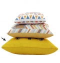 PILLOW BIG WITH FILLING, POLYESTER, FULL COLOR PRINT