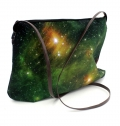 WOMEN BAG ON POLYESTER, FULL COLOR PRINT