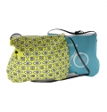 WOMEN MINI BAG ON POLYESTER, FULL COLOR PRINT