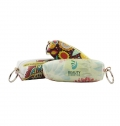 KEY CHAIN WITH WALLET POLYESTER AND NON WOVEN