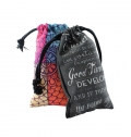 BAG WITH ROPE SIZE S POLYESTER FULL COLOR FULL PRINT