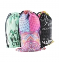 BAG WITH ROPE SIZE L POLYESTER FULL COLOR FULL PRINT