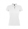 WOMEN'S POLO SHIRT PORTLAND WHITE