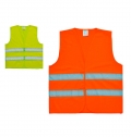 SAFETY VEST, CERTIFIED TO CE EN 471, POLYESTER