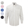 MEN OXFORD LONG SLEEVE SHIRT 135G - 70% COTTON/ 30% POL