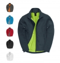 CASACO B&C ID.701 SOFTSHELL MEN 300G - 96% POLI
