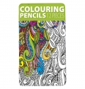 SET OF 12 COLOURED PENCILS IN PRESENTATION BOX
