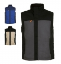 MEN'S TWO-COLOUR WORKWEAR BODYWARMER MISSION PRO