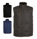 MEN'S SOLID COLOUR WORKWEAR BODYWARMER WORKER PRO