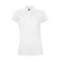 WOMEN'S SPORTS POLO SHIRT PERFORMER WOMEN WHITE