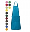 LONG APRON WITH POCKETS GALA COLORS