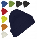 SOLID-COLOUR BEANIE WITH CUFFED DESIGN PITTSBURGH