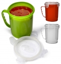 PLASTIC MICROWAVE CUP (720ML)