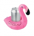 INFLATABLE FLAMINGO CAN HOLDER