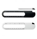 RULER, MAGNIFIER AND PEN