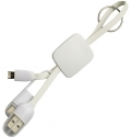3 IN 1 CHARGER AND DATA TRANSFER KEY CHAIN CABLE