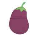 AUBERGINE POT HOLDER