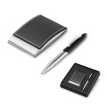 BALL PEN AND CARDHOLDER SET