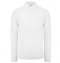 B&C ID.001 LONG SLEEVE POLO SHIRT 180G - 100% COTTON