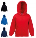 KIDS PREMIUM HOODED SWEAT JACKET 280G - 70% COTTON/ 30%