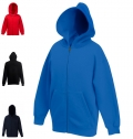 KIDS CLASSIC HOODED SWEAT JACKET 280G - 80% COTTON/ 20%