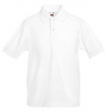 KIDS 65/35 POLO SHIRT 180G - 65% POLYESTER/ 35% COTTON