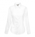 LADIES OXFORD SHIRT LONG SLEEVE 135G - 70% COTTON/ 30%